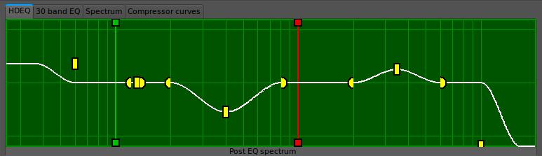 JAMin | Korektor parametryczny