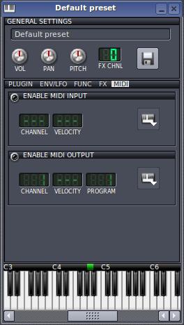 MIDI   LMMS - Linux MultiMedia Studio