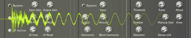 Modyfikacja brzmienia stopy perkusyjnej
