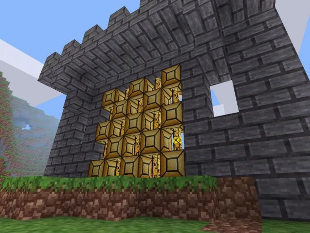 Brama zamku | Minetest - Mod Papyrus Bed