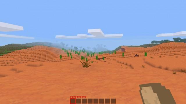 Pustynia | Minetest - Otwarty klon Minecraft