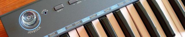 Klawiatura sterujaca MIDI na USB
