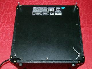otwieranie obudowy pieca gitarowego marshall mg15fx